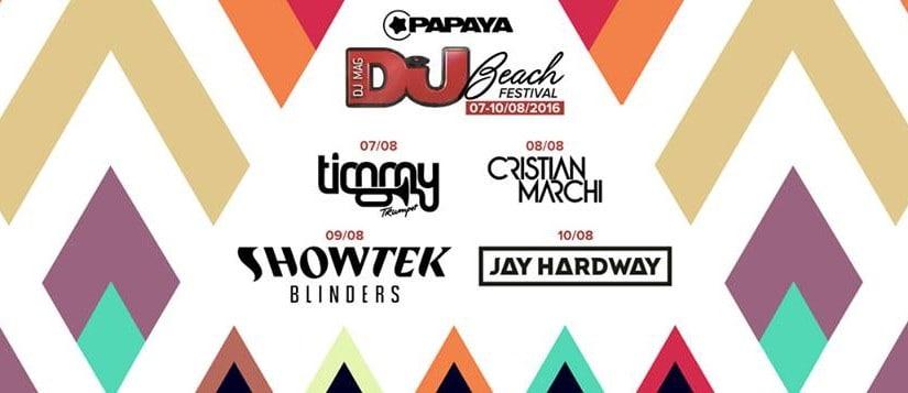DJ Mag Beach Festival 2016