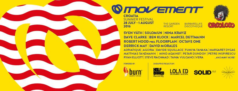Movement Croatia 2016